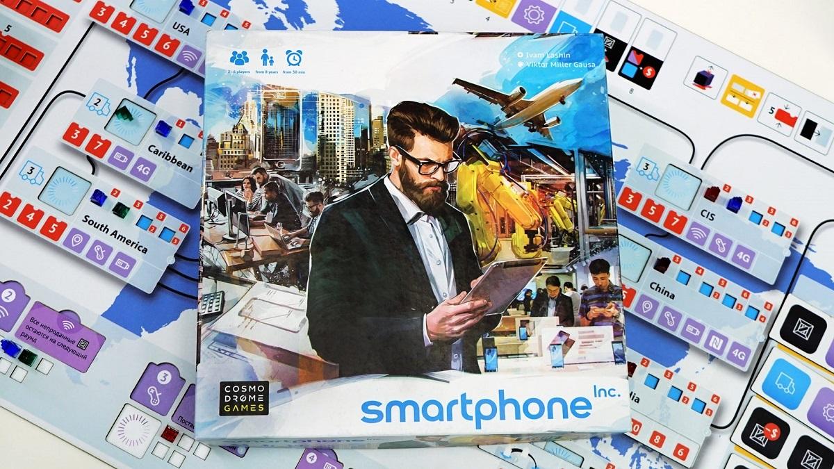 Настольная игра Smartphone Inc.